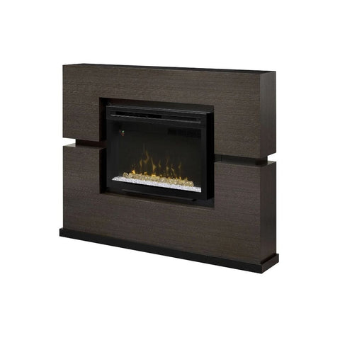 "Dimplex Linwood 65"" Mantel with 33"" Electric Firebox - US Fireplace Store"