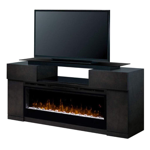 "Dimplex Concord 73"" Media Console with 50"" Electric Firebox - US Fireplace Store"