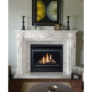 "Dynasty 66""/72"" Fountainbleus Fireplace Mantel - US Fireplace Store"