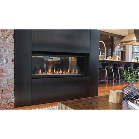"Superior 60"" DRL6060 Direct Vent Contemporary Gas Fireplace"