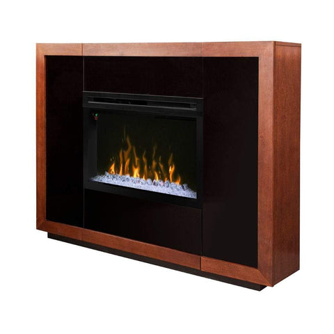"Dimplex Salazar 65"" Mantel with 33"" Electric Firebox - US Fireplace Store"