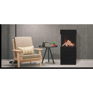 Amantii Cube 20″ Three Sided Wall Mount Electric Fireplace - US Fireplace Store