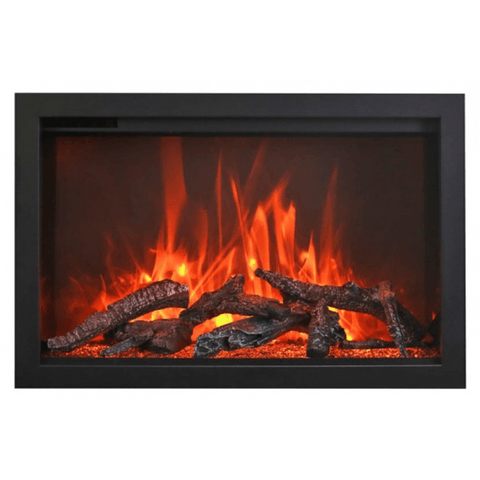 Amantii TRD 33″ Traditional Series Built-In Electric Fireplace - US Fireplace Store