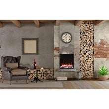 "Amantii Tru-View 29"" Built-In Three Sided Electric Fireplace - US Fireplace Store"