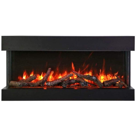 "Amantii Tru-View XL Deep 50"" Built-In Three Sided Electric Fireplace - US Fireplace Store"