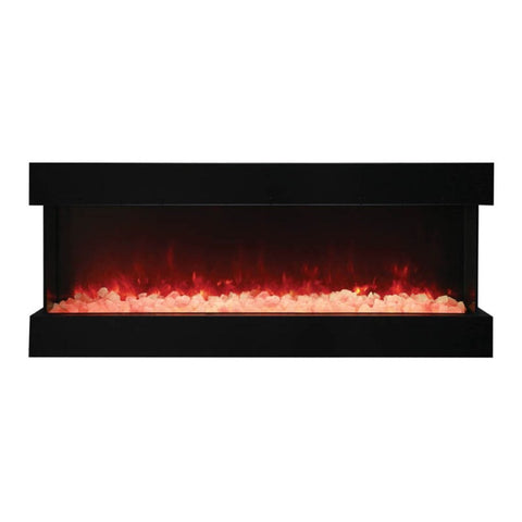 "Amantii Tru-View XL Deep 60"" Built-In Three Sided Electric Fireplace - US Fireplace Store"