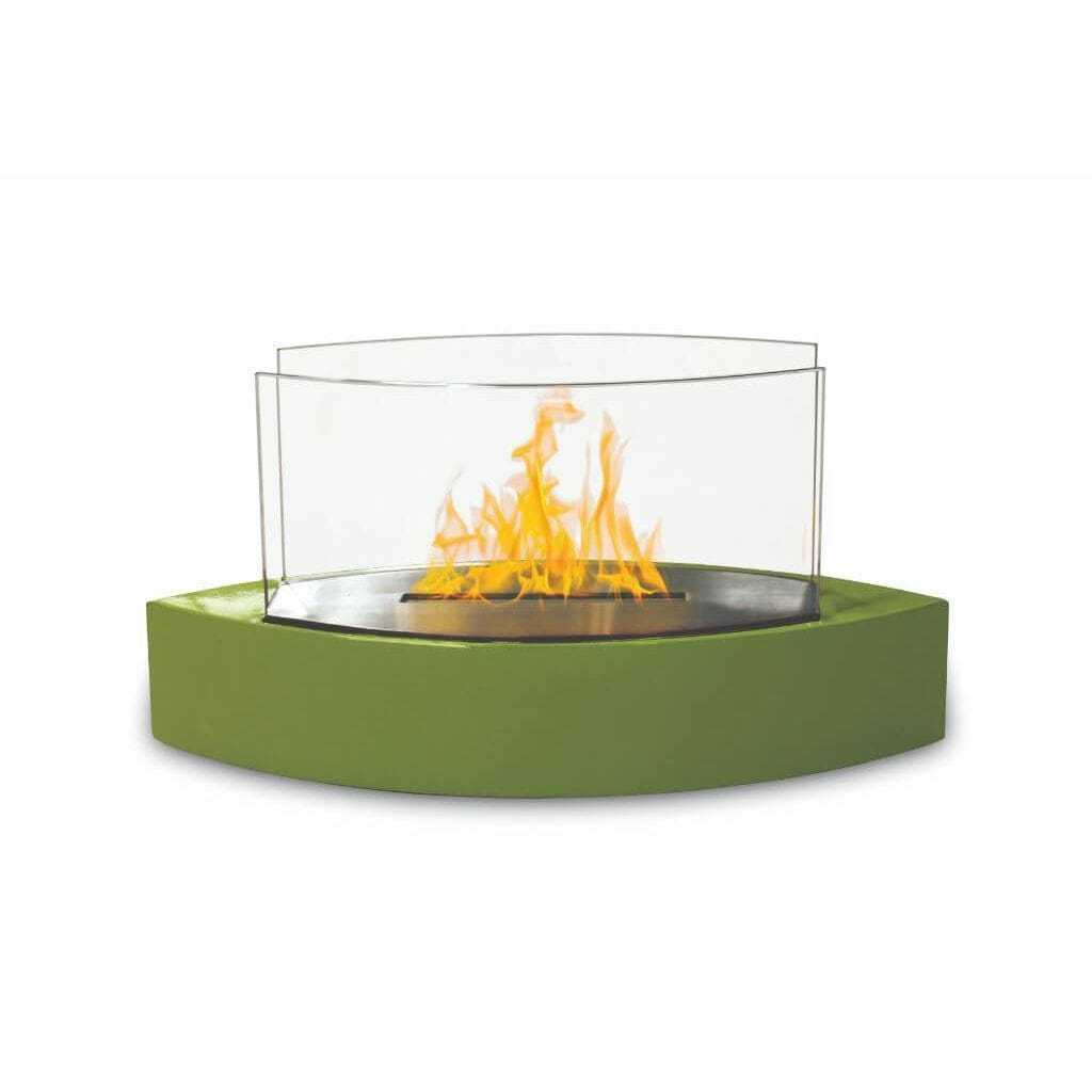 Anywhere Fireplace Tabletop Fireplace-Lexington Model Green - US Fireplace Store