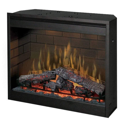 "Dimplex 30"" Self-Trimming Plug-In Electric Firebox - US Fireplace Store"