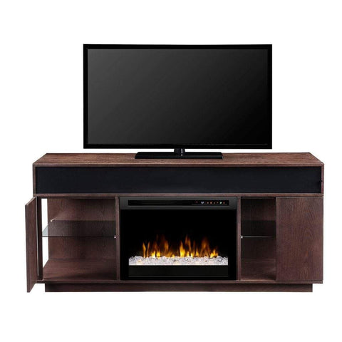 "Dimplex Audio Flex Lex 64"" Media Console with 26"" Electric Firebox - US Fireplace Store"
