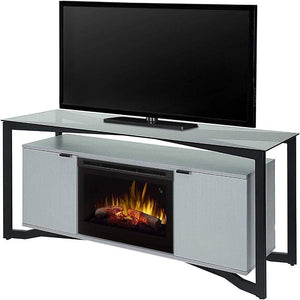 "Dimplex Christian 70"" Media Console with 25/26"" Electric Firebox - US Fireplace Store"
