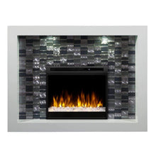 "Dimplex Crystal 58"" Mantel with 26/28"" Electric Firebox - US Fireplace Store"