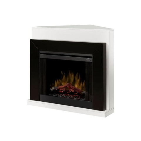 "Dimplex Ebony 50"" Contemporary Convertible Mantel (Mantel Only) - US Fireplace Store"