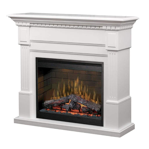 "Dimplex Essex 55"" Mantel with 30"" Electric Firebox - US Fireplace Store"