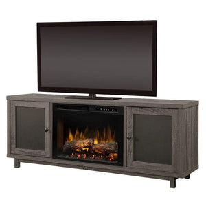 "Dimplex Jesse 65"" Media Console with 25/26"" Electric Firebox - US Fireplace Store"