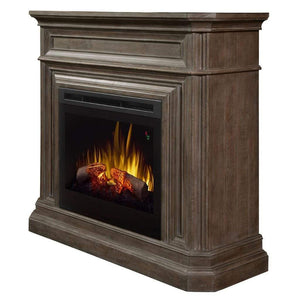 "Dimplex Ophelia 48"" Mantel with 26/28"" Electric Firebox - US Fireplace Store"