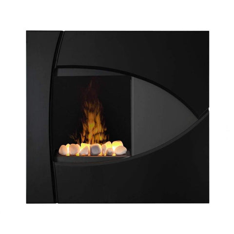 "Dimplex Opti-Myst Brayden 37"" Wall Mount Electric Fireplace With Rock Bed - US Fireplace Store"