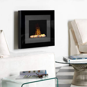 "Dimplex Opti-Myst Redway 30"" Wall Mount Electric Fireplace With Rock Bed - US Fireplace Store"