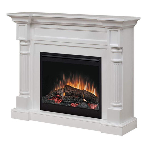 "Dimplex Winston 52"" Mantel with 26"" Electric Firebox - US Fireplace Store"