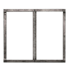 "Empire Rushmore Decorative Forged Iron Front for 36""/40"" Fireplace Accessory - US Fireplace Store"