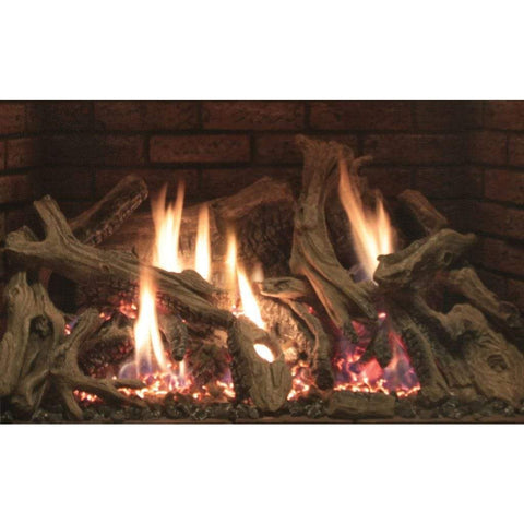 "Empire Rushmore Ceramic Fiber Log Set Accessory for 30""/35"" Inserts - US Fireplace Store"