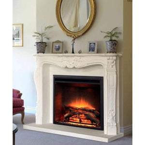 "Dynasty 66"" French Fireplace Mantel - US Fireplace Store"