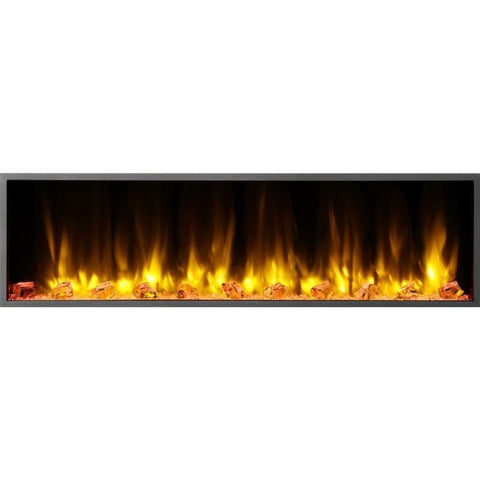 "Dynasty Harmony 56 3/8"" Linear Electric Fireplace(BEF57) - US Fireplace Store"