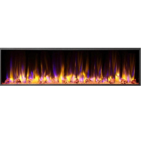 "Dynasty Harmony 64 1/4"" Linear Electric Fireplace(BEF64) - US Fireplace Store"