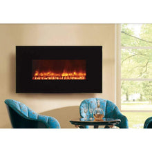 "Dynasty Mezzo 50"" Wall Mount Electric Fireplace(EF68) - US Fireplace Store"