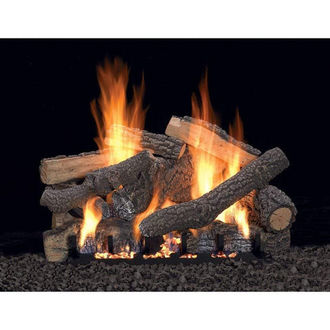 "Empire 24"" Ponderosa Refractory Log Set - US Fireplace Store"