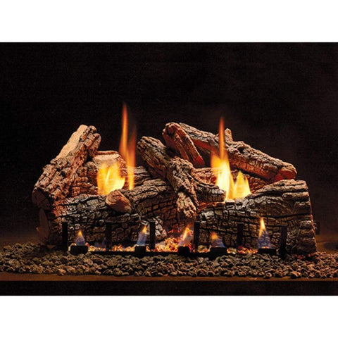 "Empire 24"" Ravenwood Refractory Log Set - US Fireplace Store"
