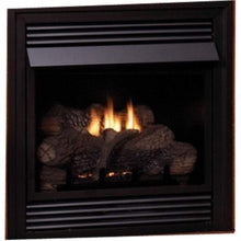 "Empire 26"" Vail Vent-Free Fireplace with Contour Burner - IP Control with On/Off Switch - US Fireplace Store"