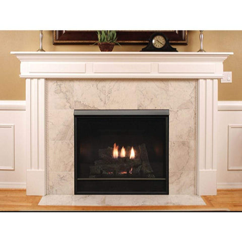 "Empire 32"" Tahoe Clean Face Direct Vent Deluxe Fireplace - Millivolt Control Series - US Fireplace Store"