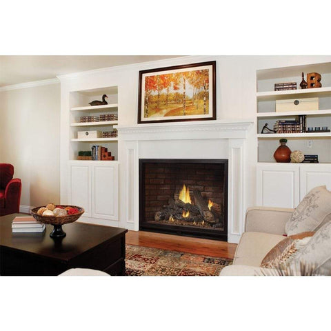"Empire 36"" Tahoe Clean Face Direct Vent Luxury Fireplace - IP Control - US Fireplace Store"