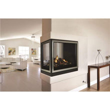 "Empire 36"" Tahoe Direct-Vent Clean Face Premium Peninsula Fireplace - US Fireplace Store"