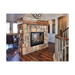 "Empire 36"" Tahoe Direct-Vent Clean Face Premium See-Through Fireplace - US Fireplace Store"