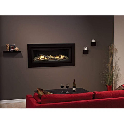 "Empire 41"" Boulevard Direct Vent Linear Traditional Fireplace - US Fireplace Store"