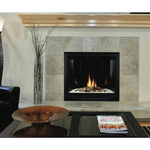 "Empire 42"" Tahoe Clean Face Direct Vent Premium Contemporary Fireplace - Millivolt Control Series - US Fireplace Store"