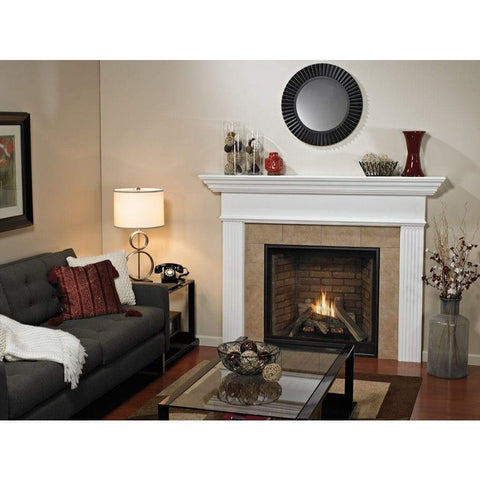 "Empire 42"" Tahoe Clean Face Direct Vent Premium Traditional Fireplace - Millivolt Control Series - US Fireplace Store"