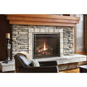 "Empire 50"" Rushmore Clean Face Direct Vent Fireplace - US Fireplace Store"