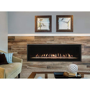"Empire 60"" Boulevard Direct Vent Linear Contemporary Fireplace - US Fireplace Store"