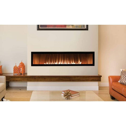 "Empire 60"" Boulevard Vent-Free Linear Gas Fireplace - US Fireplace Store"