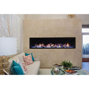 "Empire 72"" Boulevard Direct Vent Linear Contemporary Fireplace - US Fireplace Store"