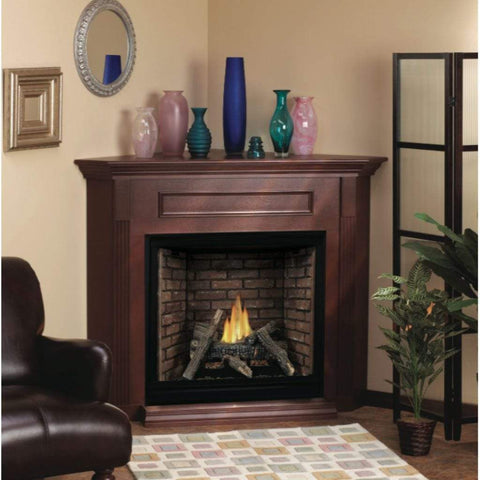 "Empire Mantel Cabinet with Base for 26"" Vail Fireplaces - US Fireplace Store"