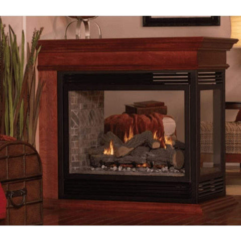 "Empire Peninsula Mantel Base for 36"" Peninsula Fireplaces - US Fireplace Store"