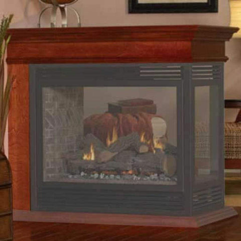 "Empire Peninsula Mantel Top for 36"" Peninsula Fireplaces - US Fireplace Store"
