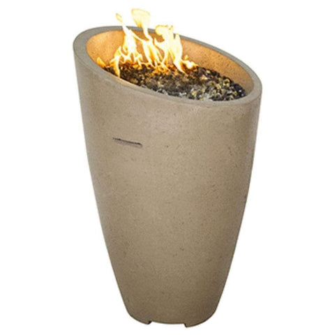 "American Fyre Designs 23"" Eclipse Gas Fire Urn with Access Door - US Fireplace Store"