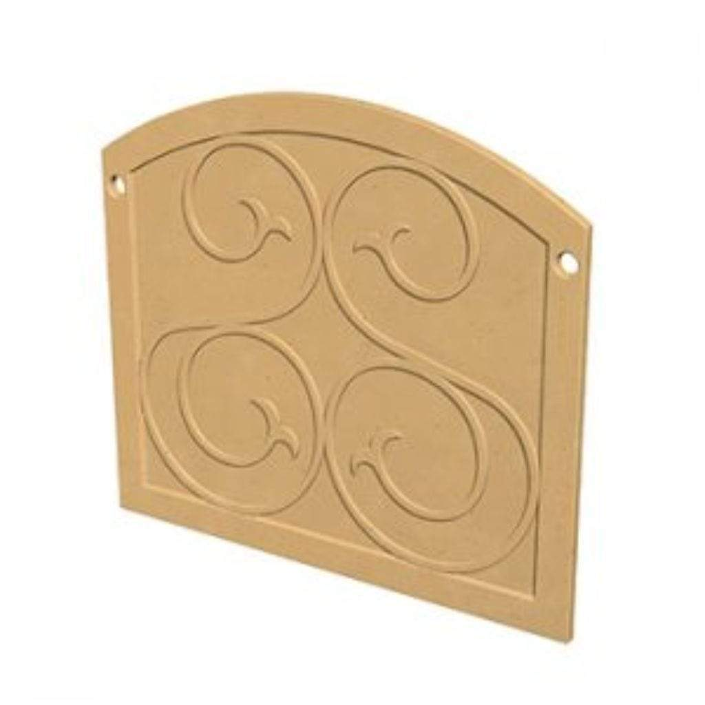 American Fyre Designs GFRC Square Protector Plate Fireplace Covers - US Fireplace Store