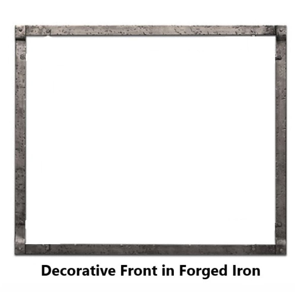Empire Rushmore Decorative Forged Iron Inset for 30