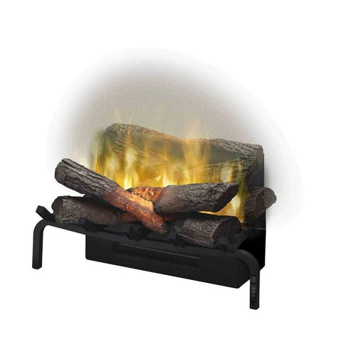 "Dimplex 20"" Revillusion Plug-In Electric Log Set - US Fireplace Store"