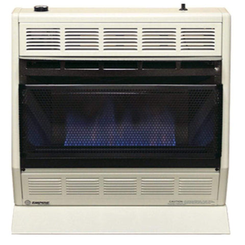 "Empire 24.12"" Modulating Hydraulic Thermostat, White 30,000 BTU Vent-Free BlueFlame Heater - US Fireplace Store"